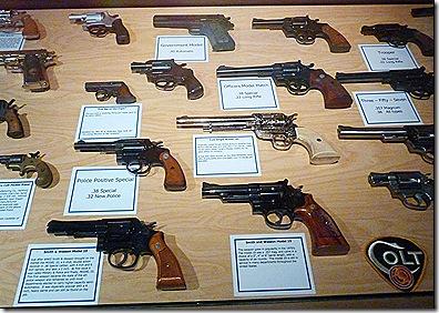 Police handguns