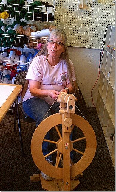Terry spinning wheel
