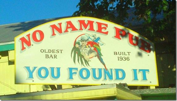 No Name Pub sign2
