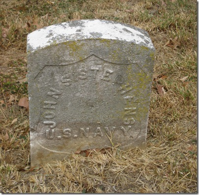 John Stephens Original Headstone Navy 2