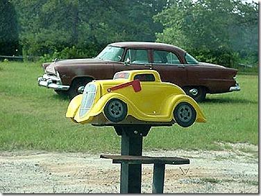 Old Car mailbox
