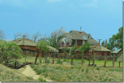 Old Colorado house