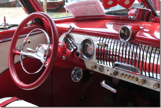 1952 Chevy Deluxe dash