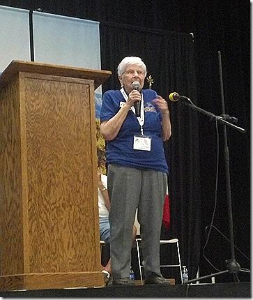Kay Peterson speaking