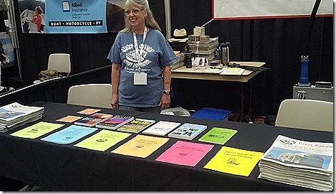 Terry vendor booth