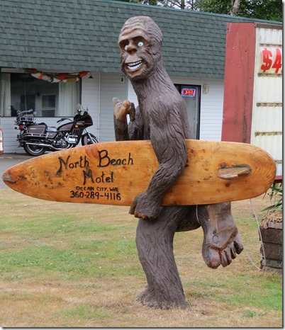 Bigfoot surfer 2