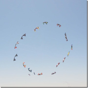 Kites in formation 2