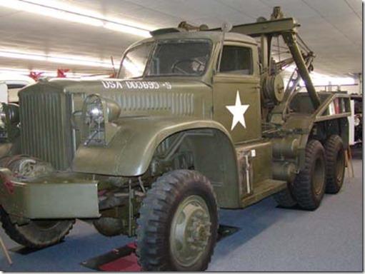 army wrecker