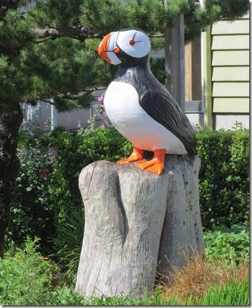 Puffin statue