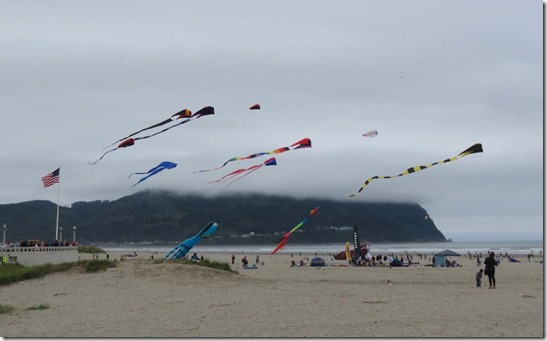 Seaside kite festival