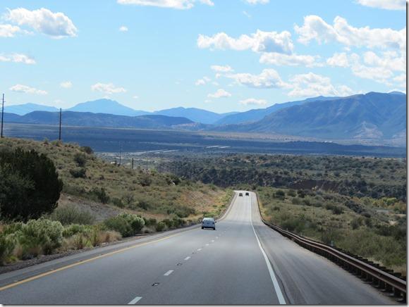 Beeline Highway downhill