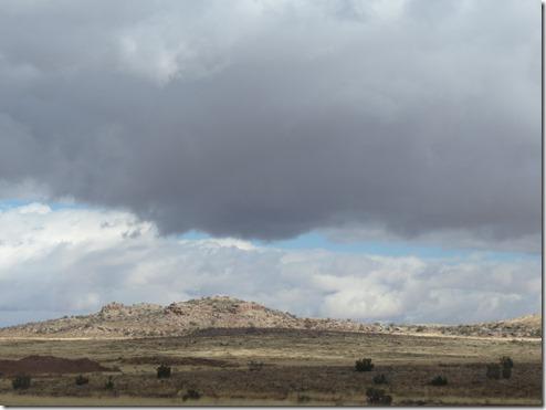 Clouds near Taylor
