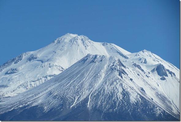 Mount Shasta peaks