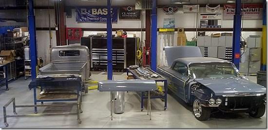 Hot Rods garage