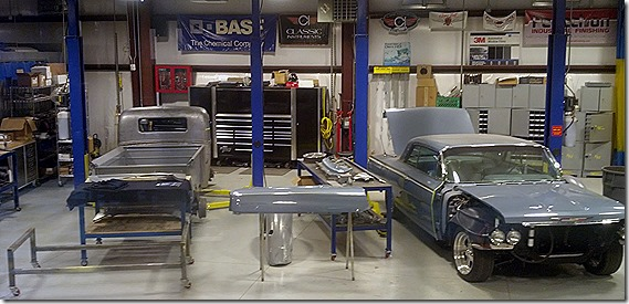 Hot Rods garage