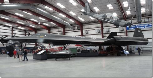 SR71 Blackbird Pima Air Museum