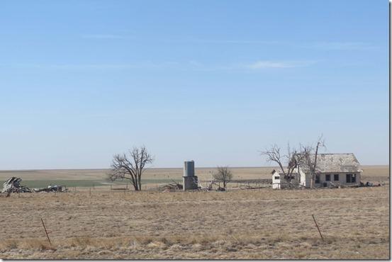 Abandoned Texas farm