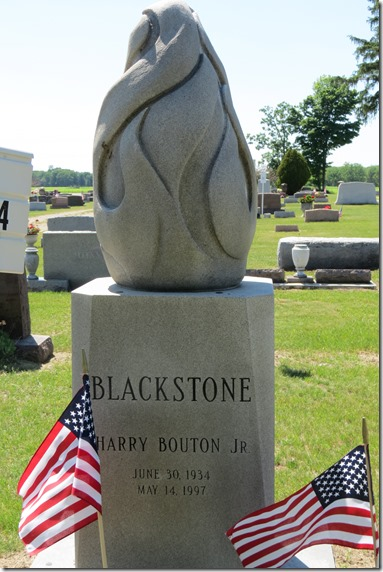 Blackstone grave