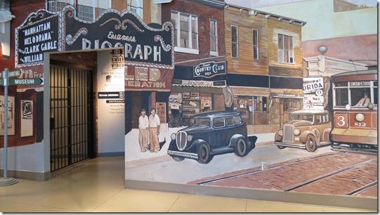 Dillinger Museum lobby