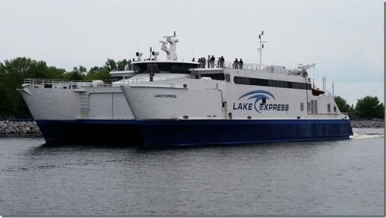 Ferry close