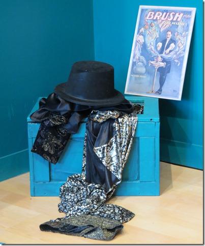 Magic Box Theater props