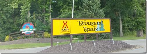 Batesville TT sign