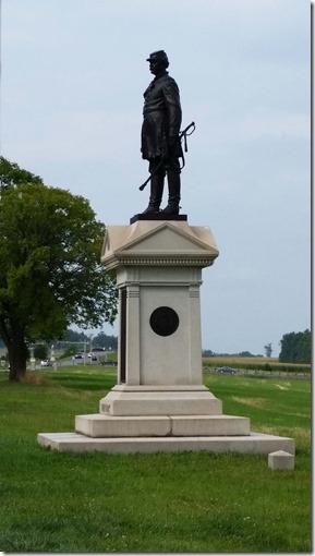 Abner Doubleday statue