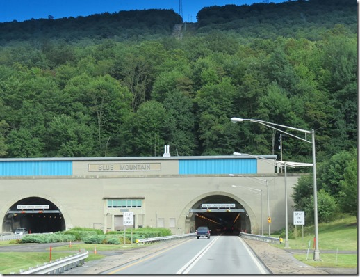 Blue Mountain tunnel