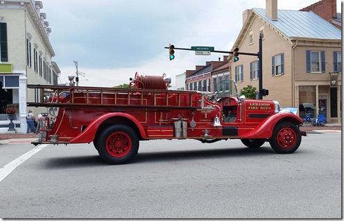 Lebanon fire truck
