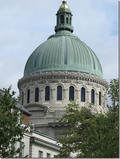 Chapel Dome outside
