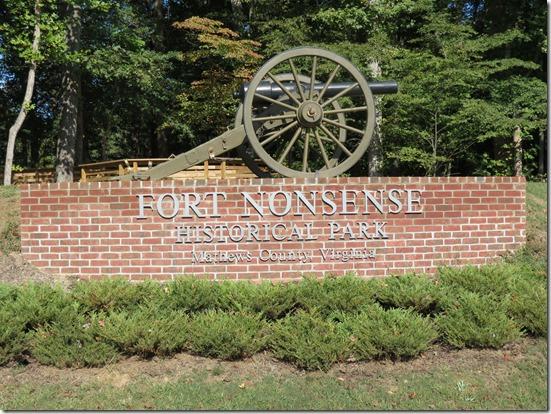Fort Nonsense canon
