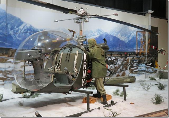 H13E Observation Helicopter