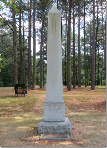 Monroe birthplace mionuemnt