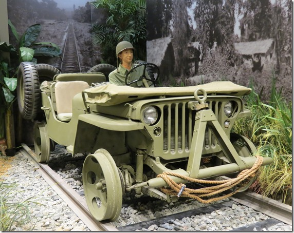 Railroad Jeep