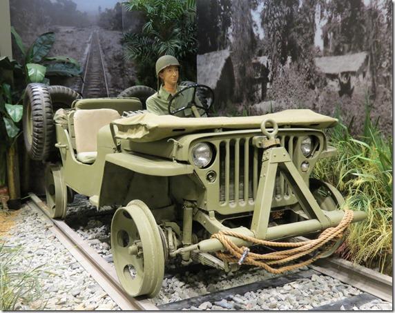 Railroad Jeep