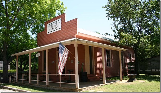 OLd Alabama town store outside 2