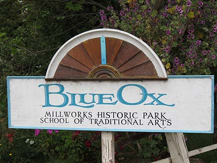Blue Ox Sign small