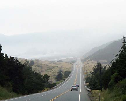 Foggy downhill small