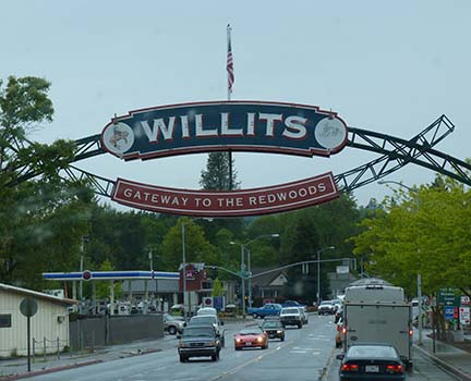 Willits sign small