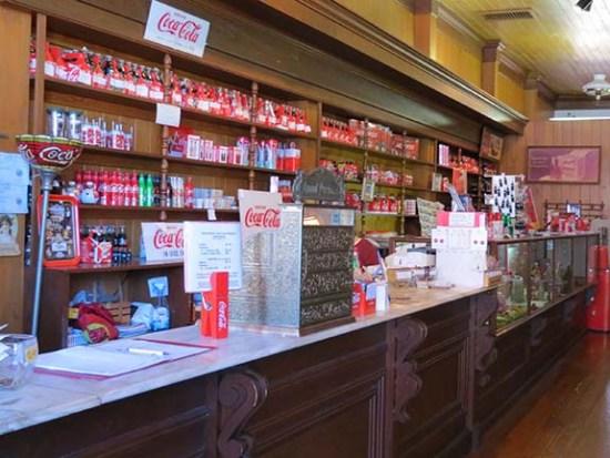 Coke Museum inside