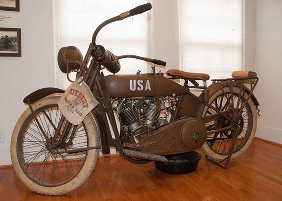 WWII Harley Davidson