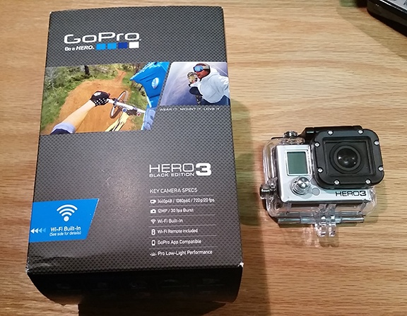 GoPro camera small