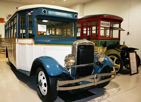 Antique buses