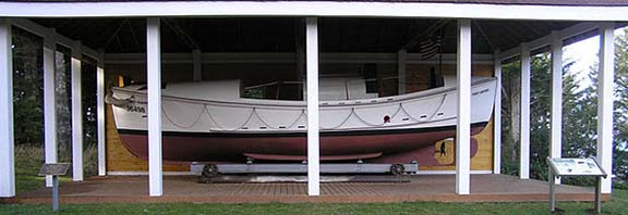 Port Orford lifeboat