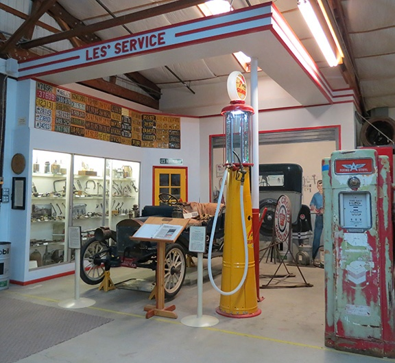Service station small