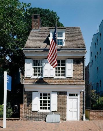 Betsy Ross House in Philadelphia, Pennsylvania.