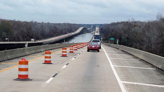 I65 road construction small