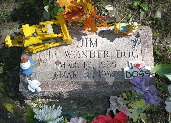 Jim Dog grave 3