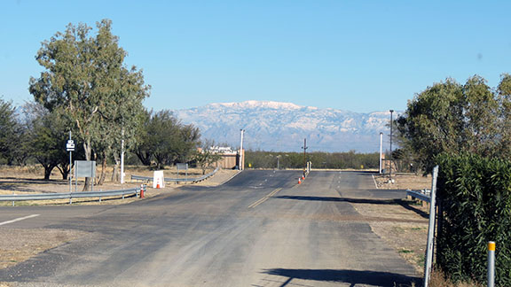 Leaving Pima County Fairgrounds small