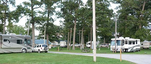 RVs Celina fairgrounds
